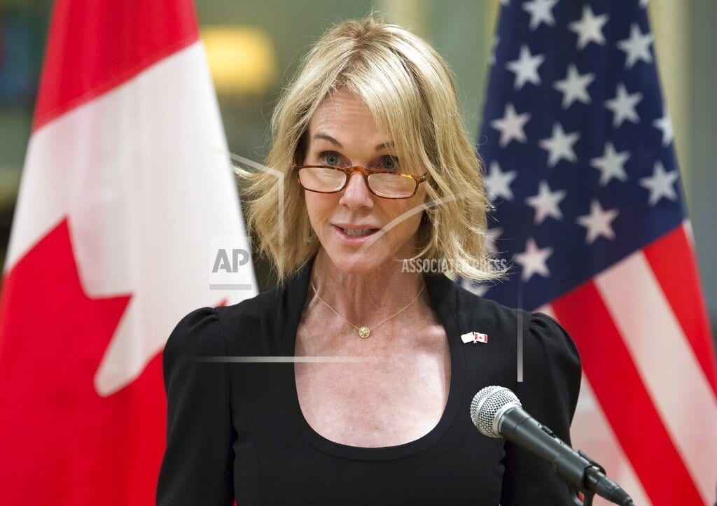 WASHINGTON | US ambassador to Canada emerges as favorite for UN post
