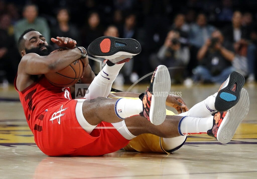 NEW YORK | Rockets star Harden fined $25,000 for criticizing officials