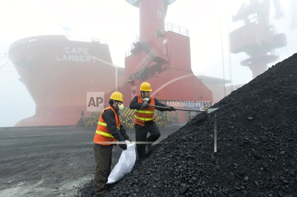 WELLINGTON, New Zealand | China says coal handling delayed by environmental checks