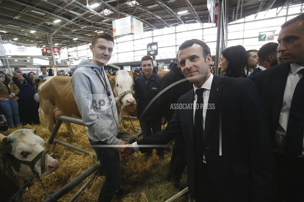 PARIS | Macron visits French farm fair amid rural anger, decline