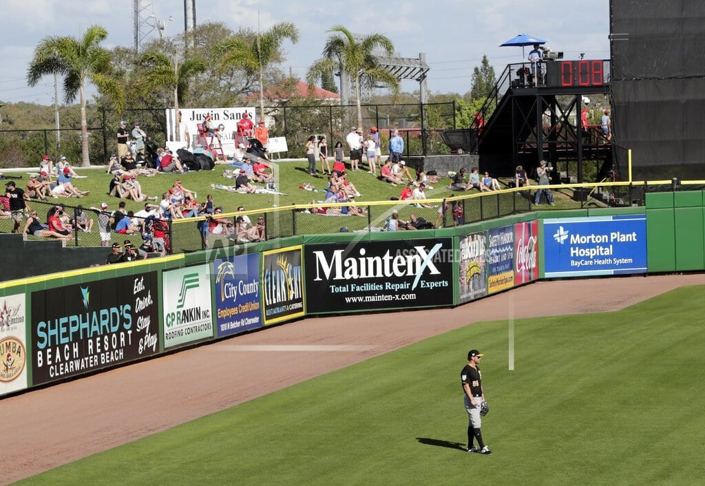 FORT MYERS, Fla | Slowly, baseball rolls out pitch clock in spring training