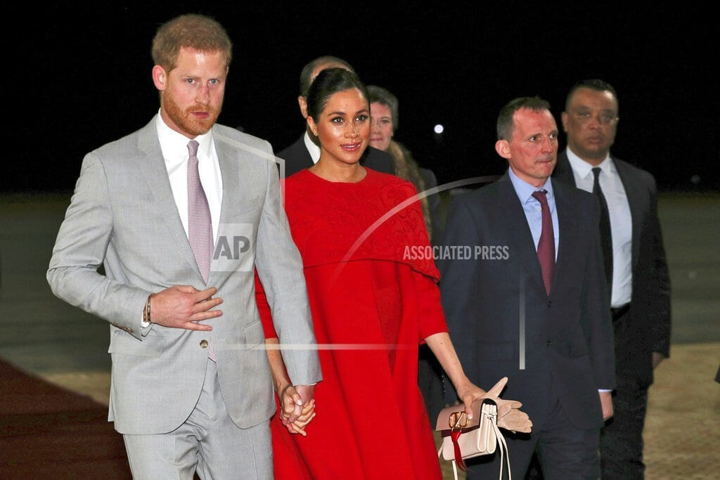 CASABLANCA, Morocco | Prince Harry, wife Meghan in Morocco on official visit