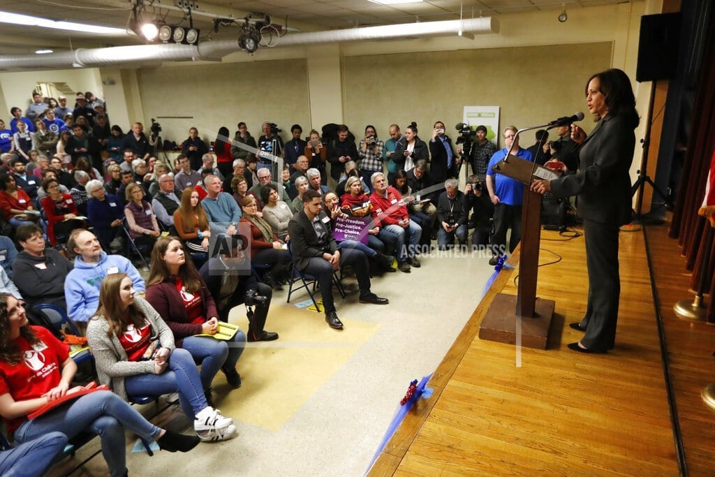 AMES, Iowa  | Soup for 3: Democratic hopefuls mingle with voters at church