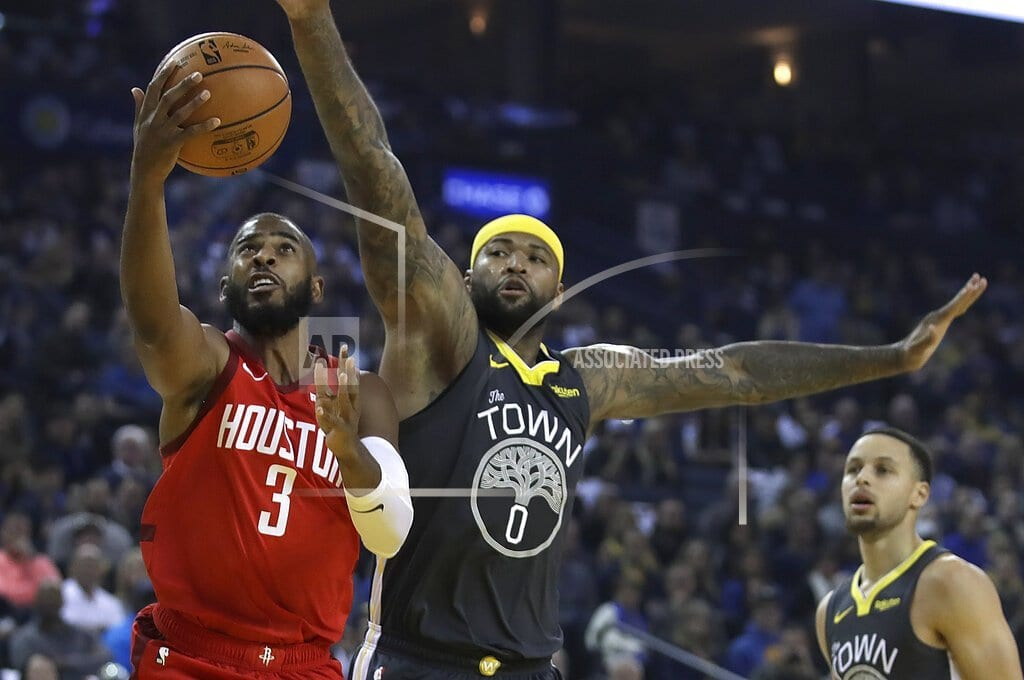 OAKLAND, Calif | Without ill James Harden, Rockets hold off Warriors 118-112