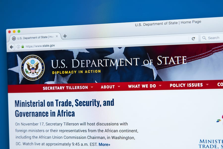 US Department of State: Secretary Pompeo's Meeting With Central African Republic President Faustin Archange Touadera