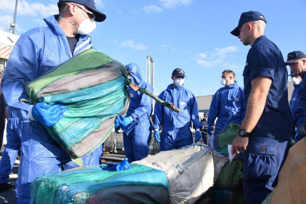 US Coast Guard offloads 14,000 pounds of marijuana, 3,660 pounds of cocaine at Port Everglades