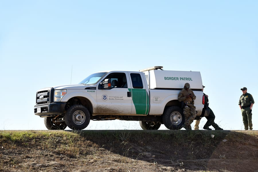 US Border Patrol Apprehends 251 Illegal Aliens in Presidio, Texas