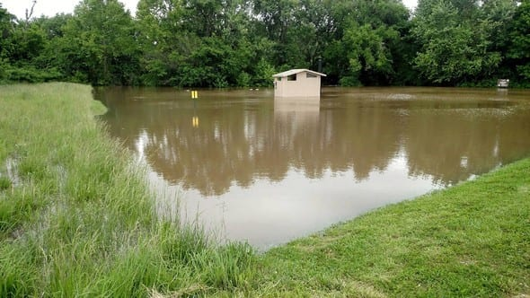 Many MDC Conservation Area and River Accesses Affected by High Water