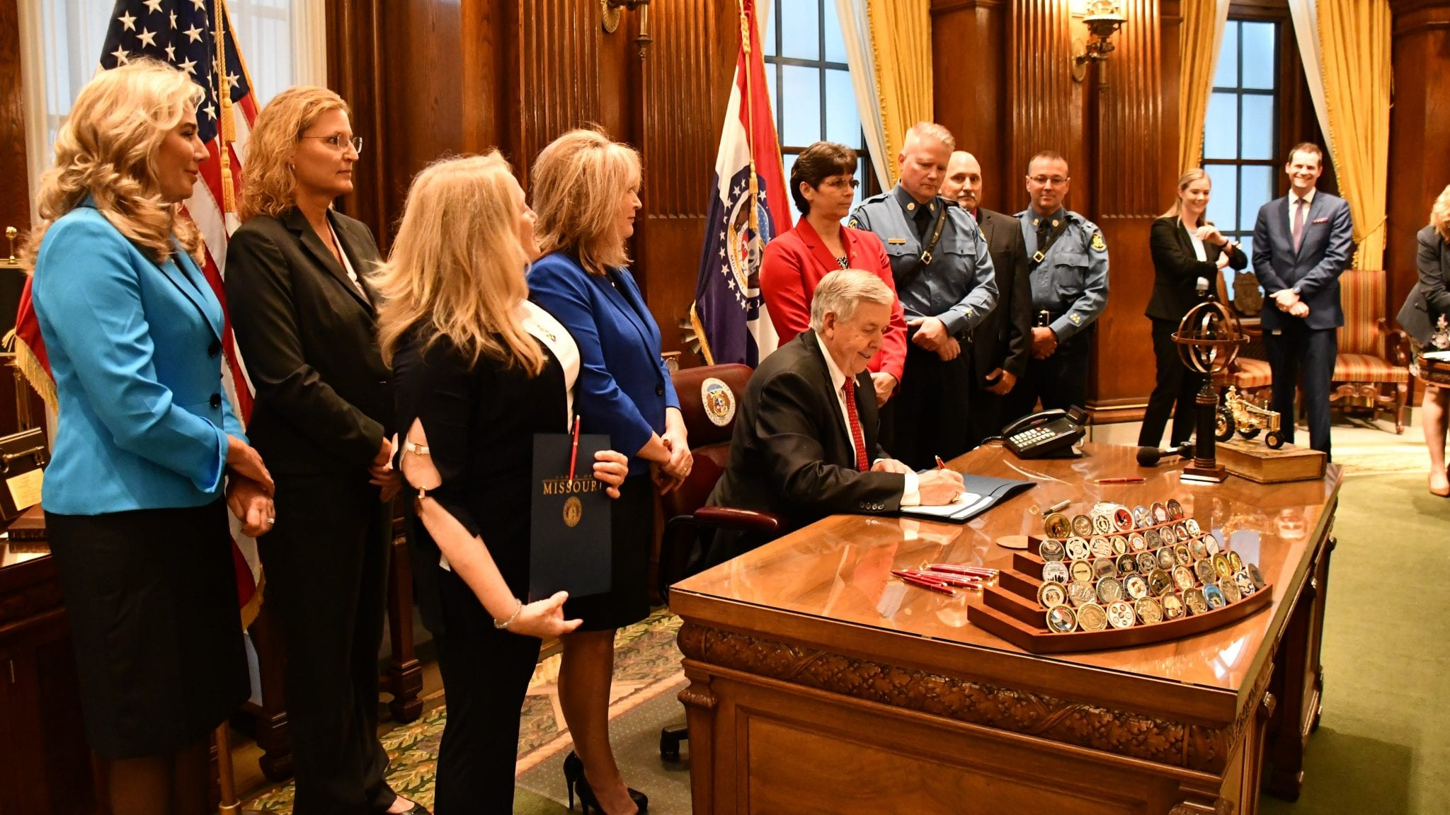 Missouri Governor Mike Parson Signs Nine Bills into Law
