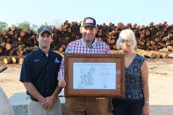 MDC Honors Racine, MO Logger, Anthony Gruver with State Forestry Award