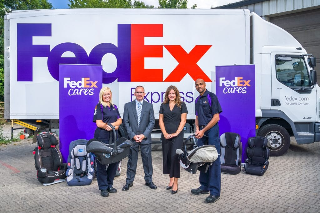 Business News: FedEx Express Donates Car Seats to Promote Road Safety