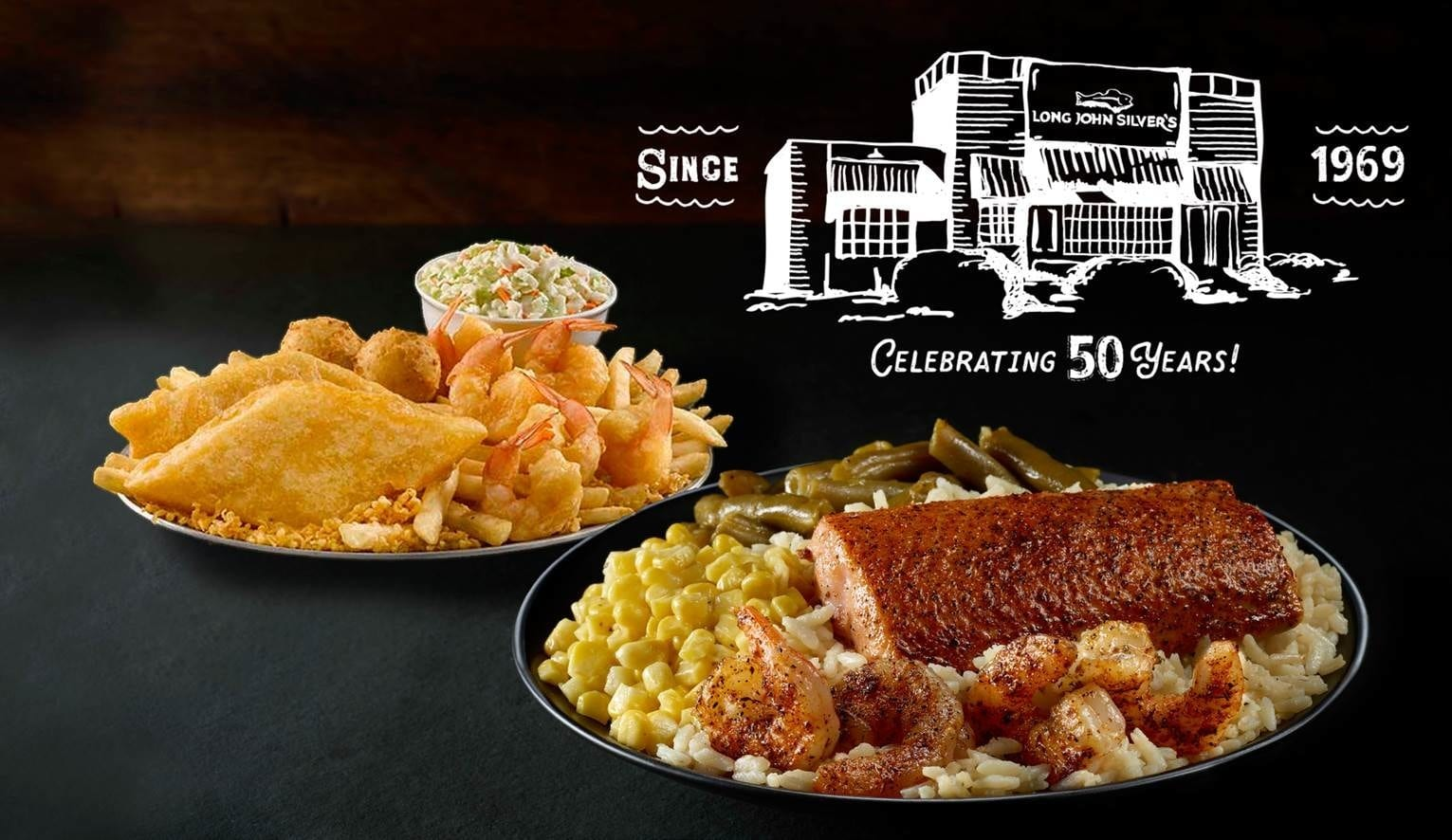 Business News: Long John Silver's Celebrates 50th Anniversary