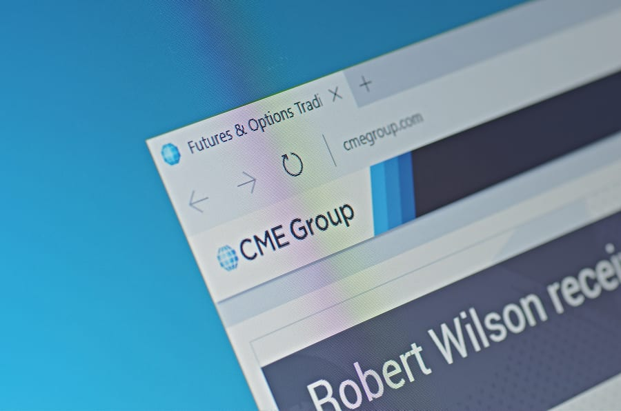 CME Group Reaches Second-Highest Monthly Volume Ever