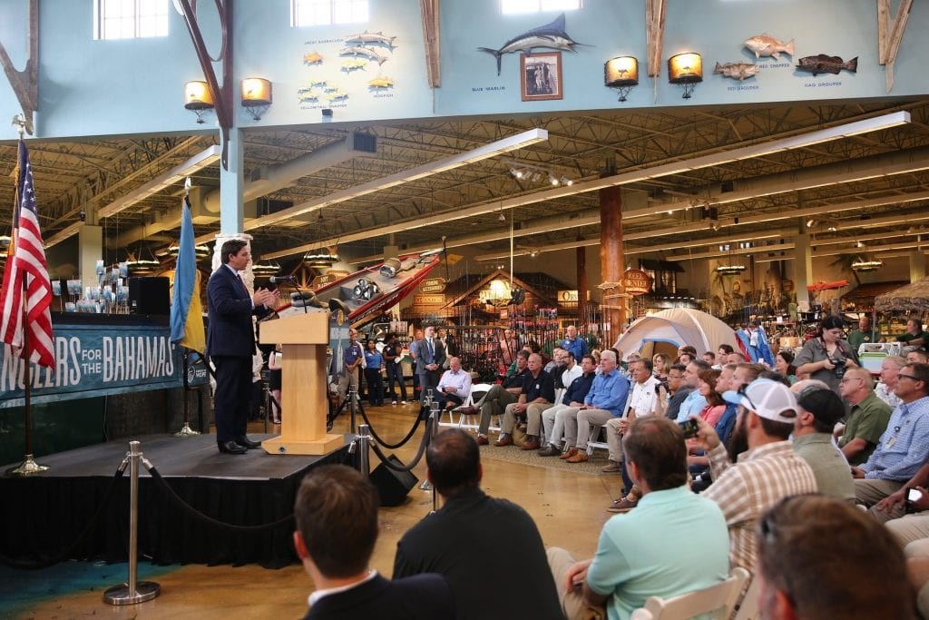 Florida Governor Ron DeSantis Joins Bass Pro Shops in the Launch of Anglers for the Bahamas