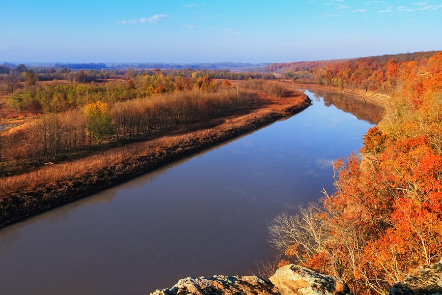 MDC Forester, Jennifer Behnken, Says Southeast Missouri Fall Color is Finally on the Move