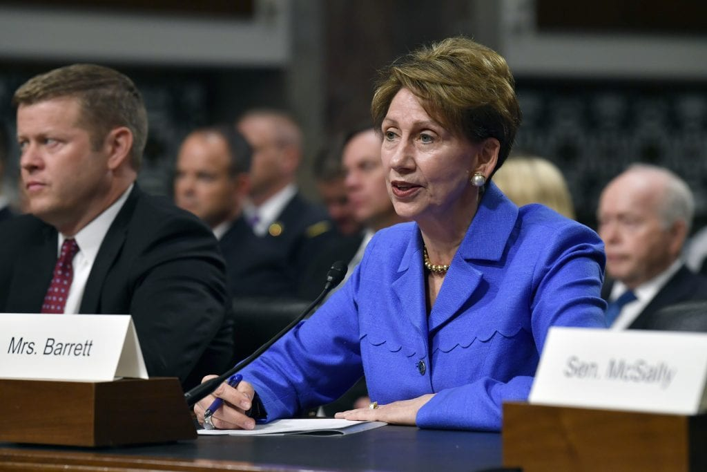 Senate confirms Barrett to be Air Force secretary