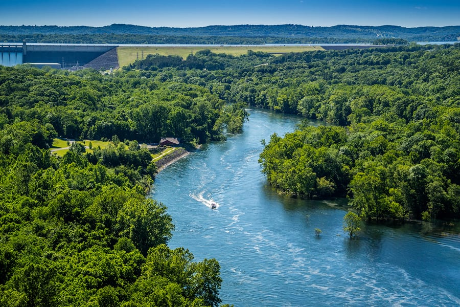 City of Branson Monitoring Table Rock Corps Spillway Release