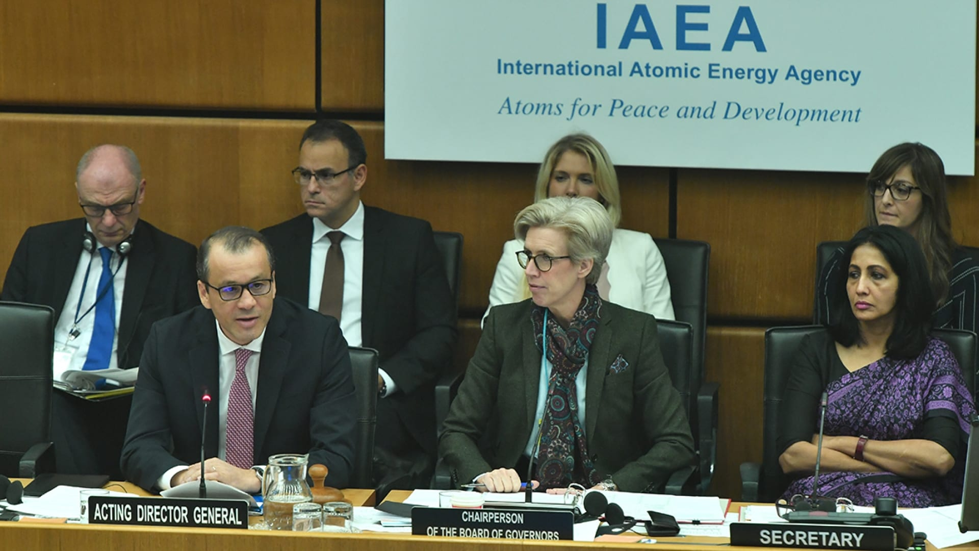 International Atomic Energy Agency Acting Director General Urges Iran to Fully Cooperate