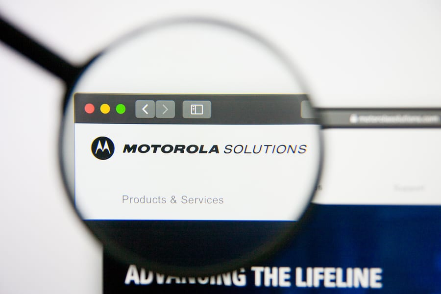 Motorola Solutions' Leading Mobile Technology Developed in Glasgow to be Rolled Out to Police Scotland Officers