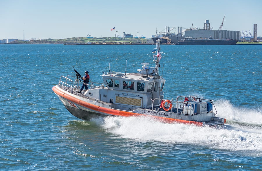 Coast Guard lifts safety zone in Gulf Intracoastal Waterway near Corpus Christi, Texas
