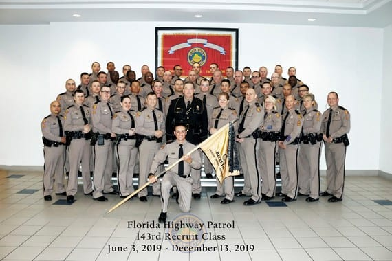 143rd Basic Recruit Class Graduates from Florida Highway Patrol Training Academy