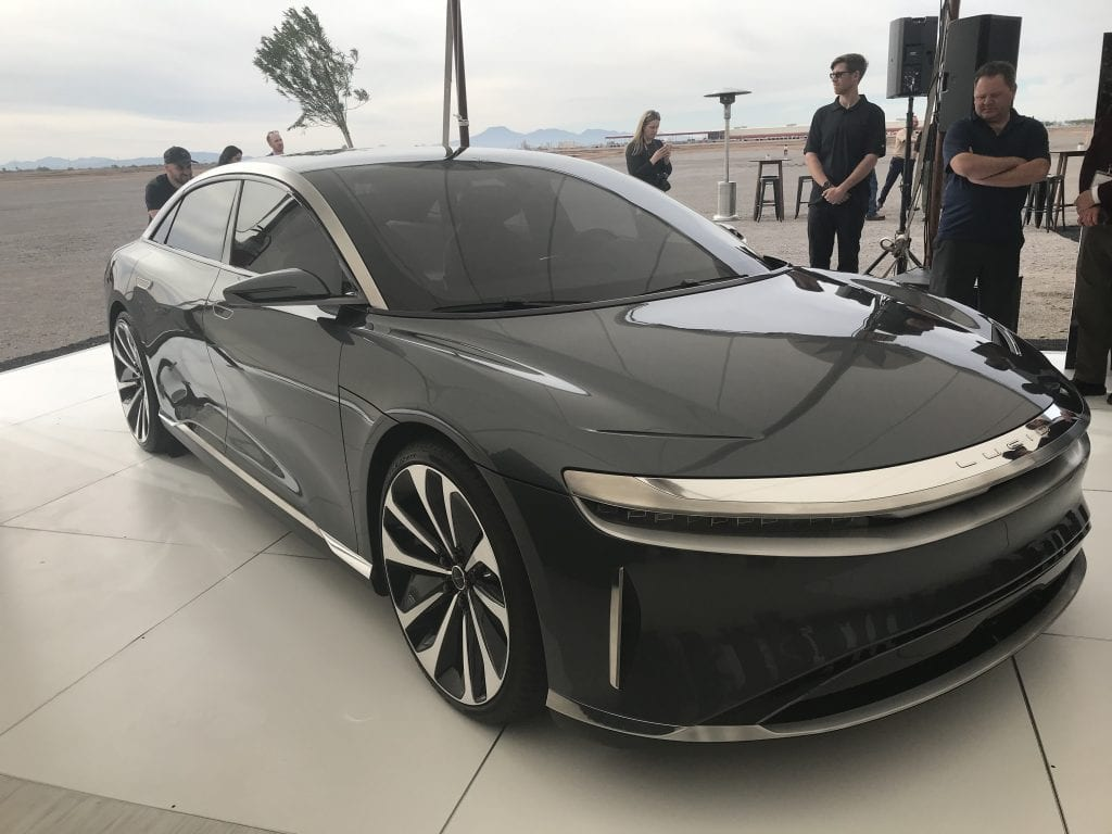 Lucid Motors Marks Start Of Construction At Arizona Electric Vehicle Factory Site