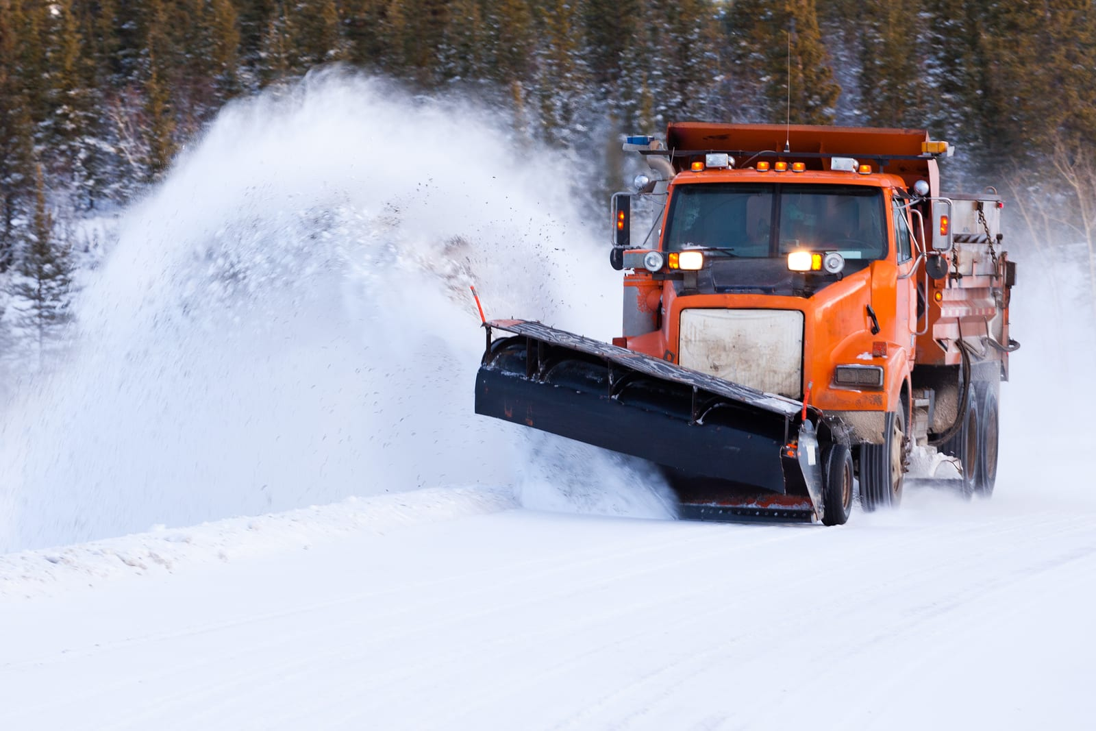 City of Columbia MO plow crew scheduled to report at 7 p.m., Jan. 24, to continue treating, plowing all City streets