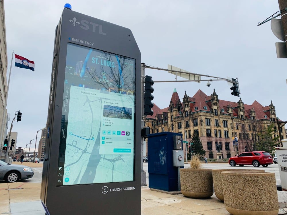 City of St. Louis Launches New, Interactive Smart City Digital Kiosks