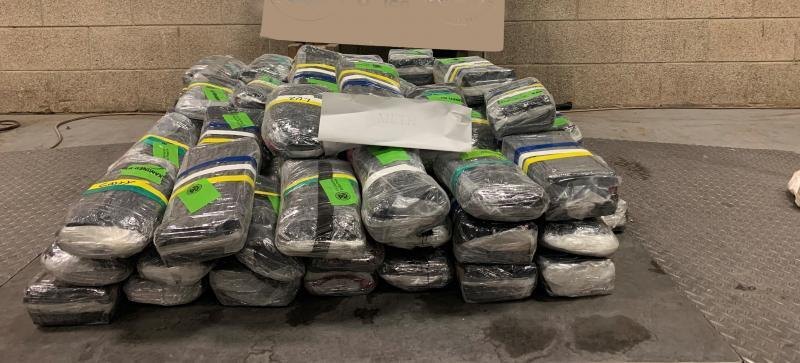 CBP Field Operations Seizes Huge Load of Methamphetamine and other Narcotics Worth Over $18 Million at Pharr International Bridge